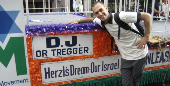 DJ Or Tregger Joins AZM at the Celebrate Israel Parade!