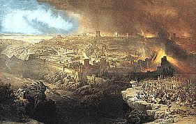 Romans Sacking Jerusalem