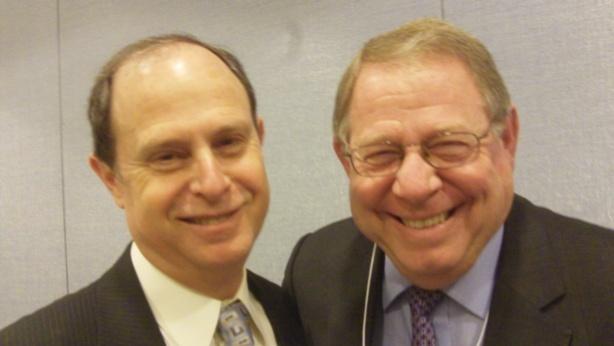 Rabbi Vernon Kurtz (left) Rabbi Bennett Miller (right)