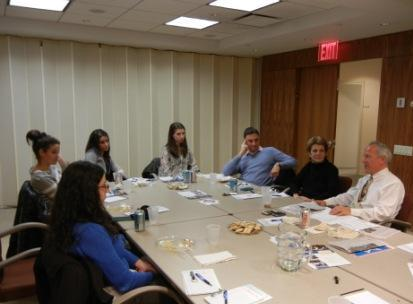 ViZionYLD attendees discuss how Israel is portrayed in the media.