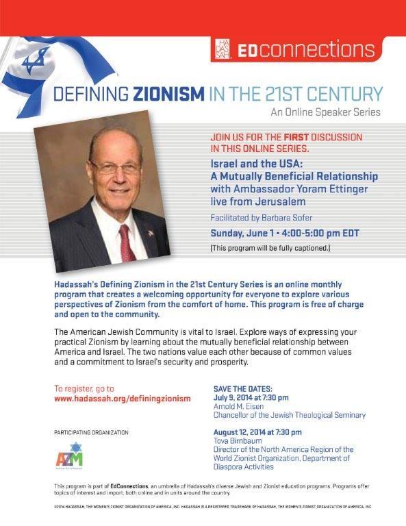 Defining Zionism